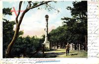 Berlin Wilmersdorf Grunewald, Partie am Schildhorndenkmal