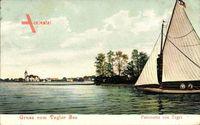 Berlin Reinickendorf Tegel, Segelboot auf dem Tegler See