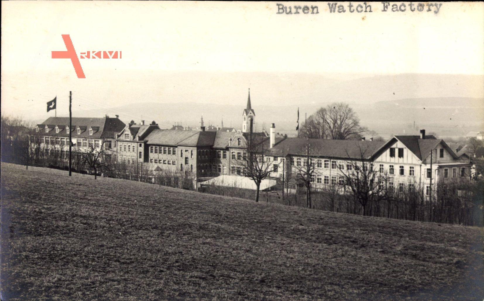 Tavannes Kt. Bern Schweiz, Buren Watch Factory, Uhrenfabrik