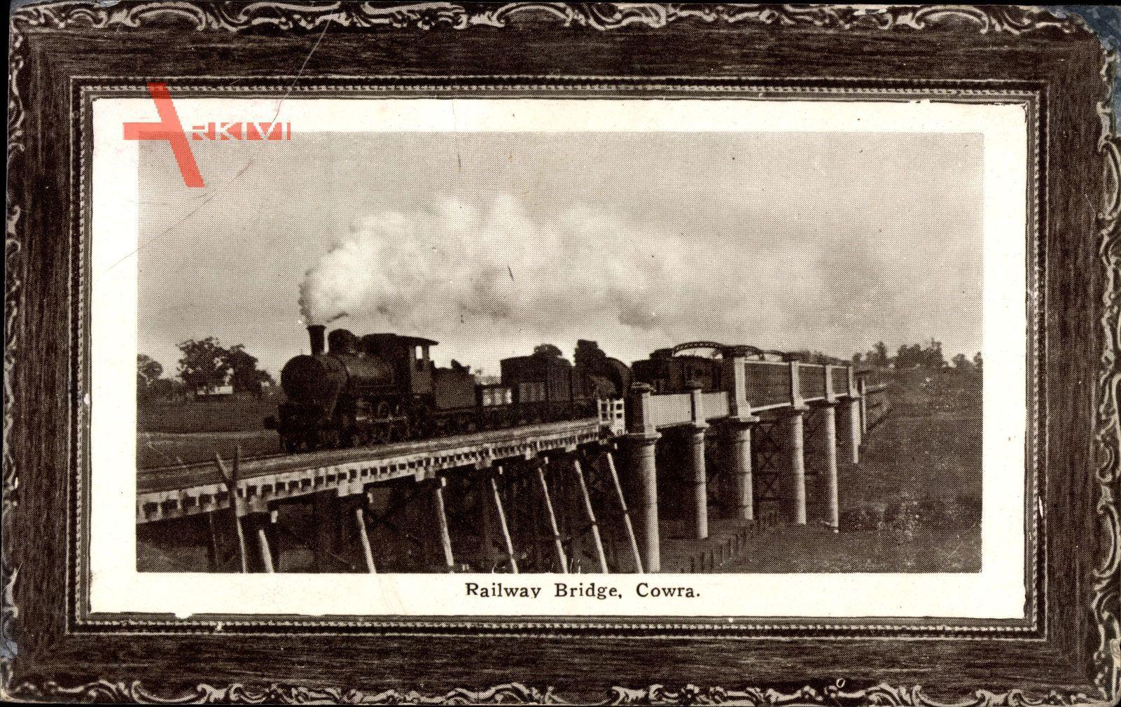Passepartout Cowra Australien, Railway Bridge, Eisenbahnbrücke
