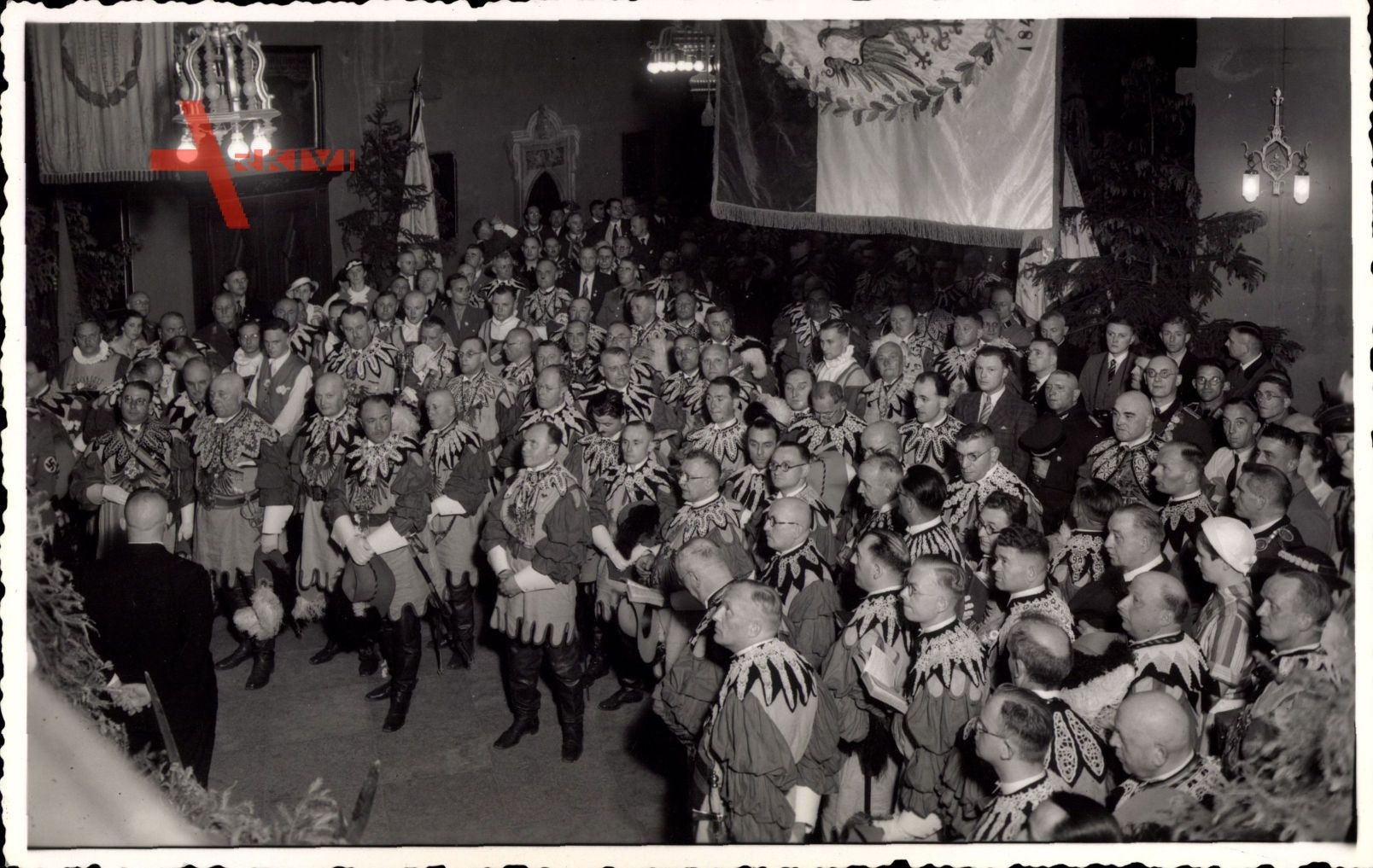 Mühlhausen im Thüringer Unstrut Hainich Kreis, Feier der Pankgrafen, Karneval