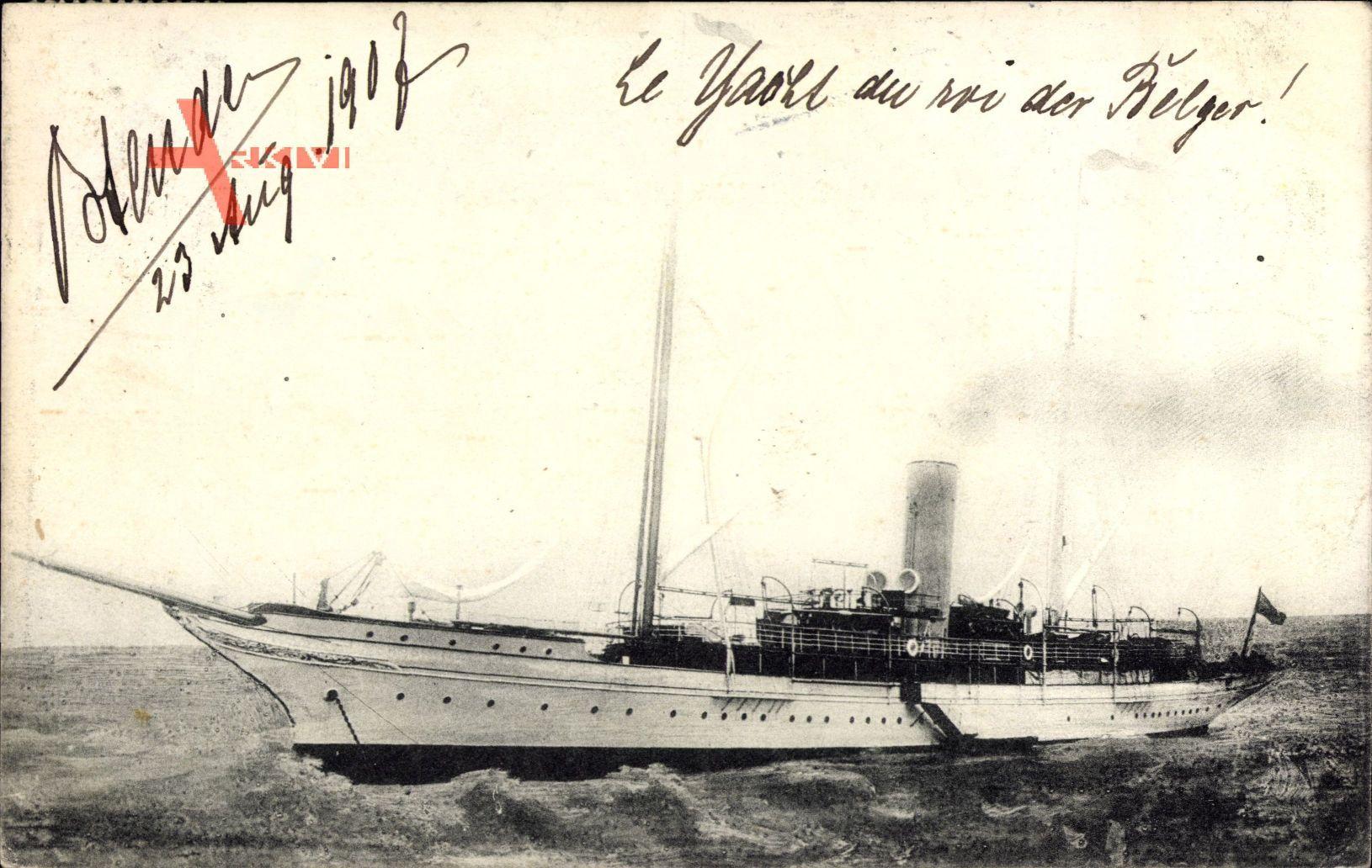 Ostende, Le Yacht du Roi, Segelyacht des belgischen Königs
