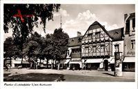 Berlin Steglitz Lichterfelde West, Blick in die Curtiusstraße, Fachwerkhaus