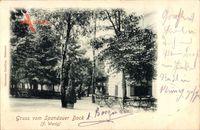 Gruß vom Spandauer Bock in Berlin Spandau um 1899