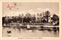Berlin Köpenick, Spreepartie bei Restaurant Neu Ahlbeck, H. Peters, Boote