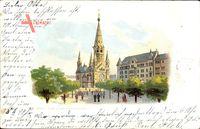 Berlin Charlottenburg, Blick auf Kaiser Wilhelm Gedächtniskirche