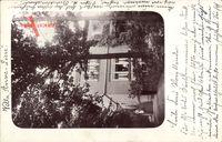 Kötzschenbroda Radebeul, Blick auf die Villa Anne Liese, Treppe