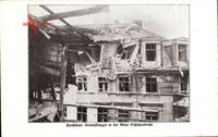 Berlin Mitte, Furchtbare Verwüstungen in der Alten Schützenstraße