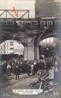 Berlin Schöneberg, Hochbahnkatastrophe vom 26 September 1908