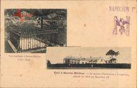 Napoleon Ier, Son tombeau à Sainte Hélène, Exil, Maison, Longwood