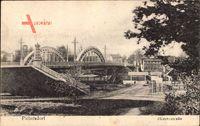 Berlin Spandau Pichelsdorf, Brückenansicht mit Heeresstraße