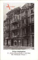 Berlin, Minenvolltreffer im Haus Alte Schönhauser Straße 4