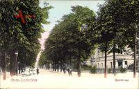Berlin Steglitz Lichterfelde, Blick in die Jägerstraße, Kinder