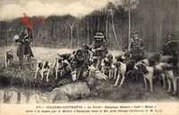 Villers Cotterêts Aisne, La Foret, Equipage Menier, Cerf Mulet