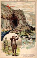 La Caverne de Fingal, Écosse, Schottland, Chasse au Mouettes,Choco Lombart