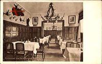 Berlin Mitte, Restaurant zum Heidelberger, Innenansicht, Jagdzimmer