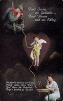 Zwei Seelen ein Gedanke, Zwei Herzen und ein Schlag, Soldat, Amor, Telefon