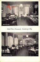 Ratzeburg im Herzogtum Lauenburg, Hotel Fürst Bismarck, Otto Hennings