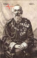 Prinzregent Luitpold von Bayern, Sitzportrait, 1911, 90. Geburtstag