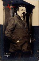 Friedrich Ebert, Deutscher Sozialdemokrat, Reichspräsident 1919 bis 1925