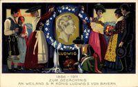Ganzsachen König Ludwig II. von Bayern, 1886 bis 1911, GS PP27 C33