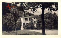 Imst Tirol Österreich, Villa, Frühling, Vorplatz