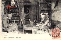 Cordonniers, Schuhmacher bei der Arbeit, Neurdein Frères N.D.  84 T