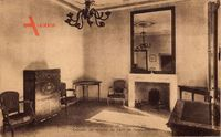 Ajaccio Corse du Sud, Maison de Napoleon 1er, Cabinet de travail du Pere