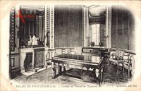 Fontainebleau Seine et Marne, Palais, Cabinet de Travail de Napoleon 1er
