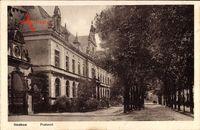 Itzehoe, Blick auf das Postamt von der Seite aus
