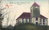 Niegosław Neu Anspach Uckermark Ostbrandenburg, Kirche