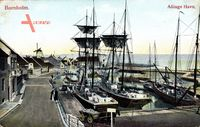 Bornholm Dänemark, Allinge Havn, Segelschiffe im Hafen