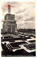Berlin Neukölln, Dachgarten des Karstadt Hauses am Hermannplatz