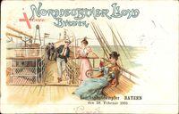 Norddeutscher Lloyd Bremen, Reichspostdampfer Bayer, 28 Februar 1901