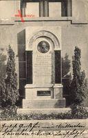 Darmstadt, Denkmal für Kapitänleutnant Fischer von SMU 3