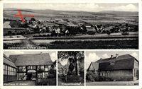 Eschershausen bei Uslar, Gesamtansicht, Kaufhaus H Weber, Kriegerdenkmal