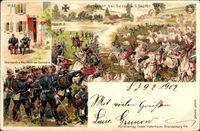 Schlacht bei Sedan am 1 September 1870, Bismarck und Napoleon, Docherie