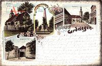 Gardelegen, Salzwedeler Tor, St. Marien Kirche, Kriegerdenkmal