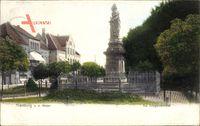 Nienburg an der Weser, Partie am Kriegerdenkmal