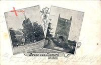 Bismark Altmark, Kirche und Kriegerdenkmal, Goldene Laus