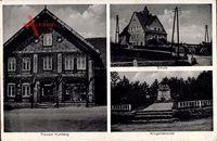 Pohle bei Lauenau, Theodor Humberg Kolonialwaren, Schule, Kriegerdenkmal