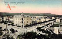 Warna Bulgarien, Blick auf den Boulevard Marie Louise, Denkmal