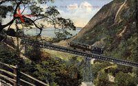 Rio de Janeiro Brasilien, F. C. do Corcovado, Zahnradbahn, Dampflok