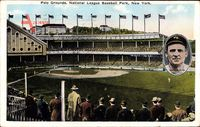 New York City USA, Polo Grounds, National League Baseball Park, Giants