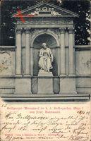 Wien 1. Innere Stadt Österreich, Grillparzer Monument im Volksgarten
