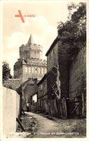 Chojna Königsberg Neumark Ostbrandenburg, Stadtmauer mit Bernikower Tor