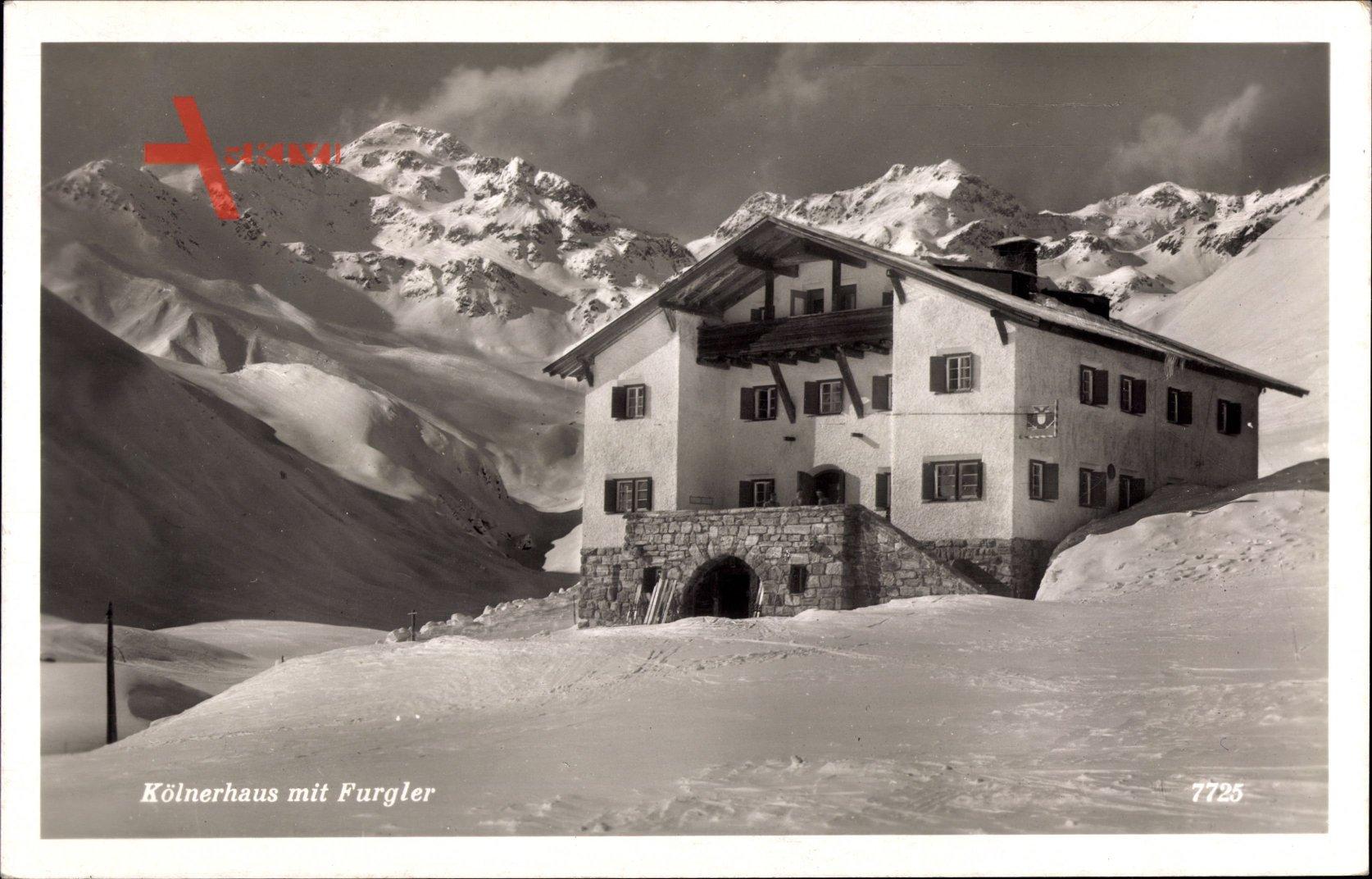 Serfaus Tirol Osterreich Blick Auf Das Kolner Haus Komperdell Xl