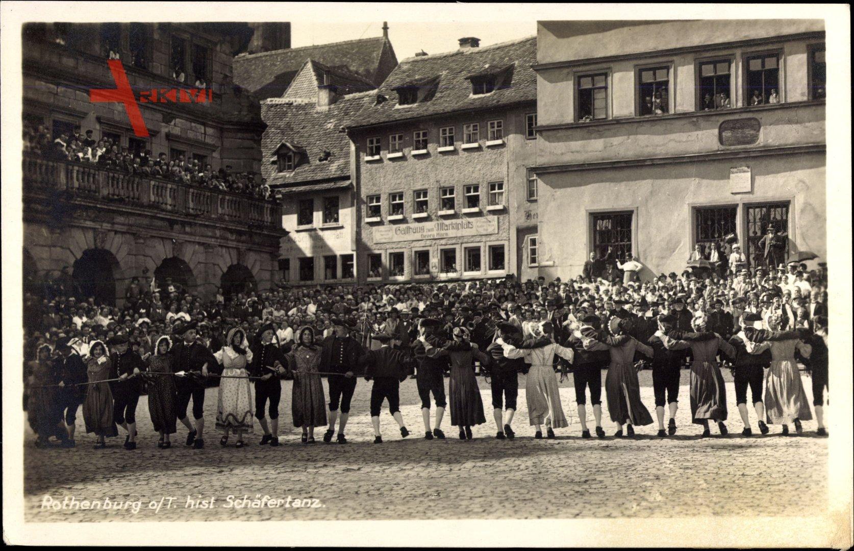 Rothenburg ob der Tauber Mittelfranken, Historischer Schäfertanz