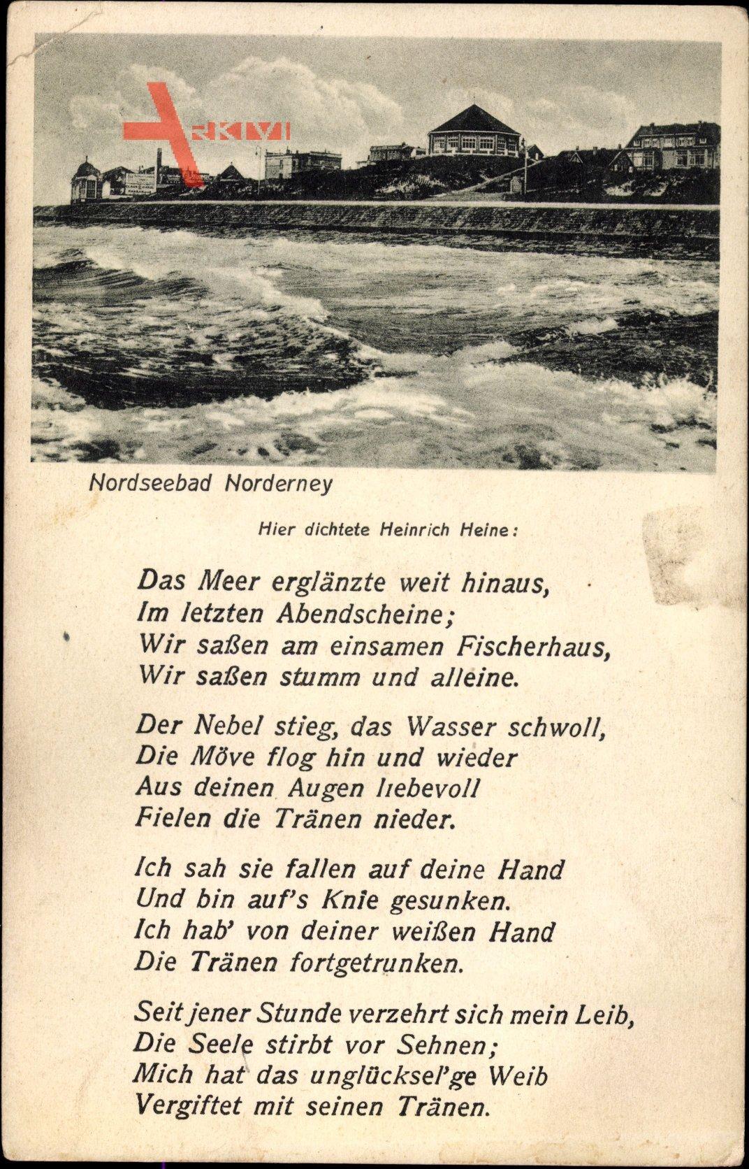 Gedichte heinrich heine Gedichte (German