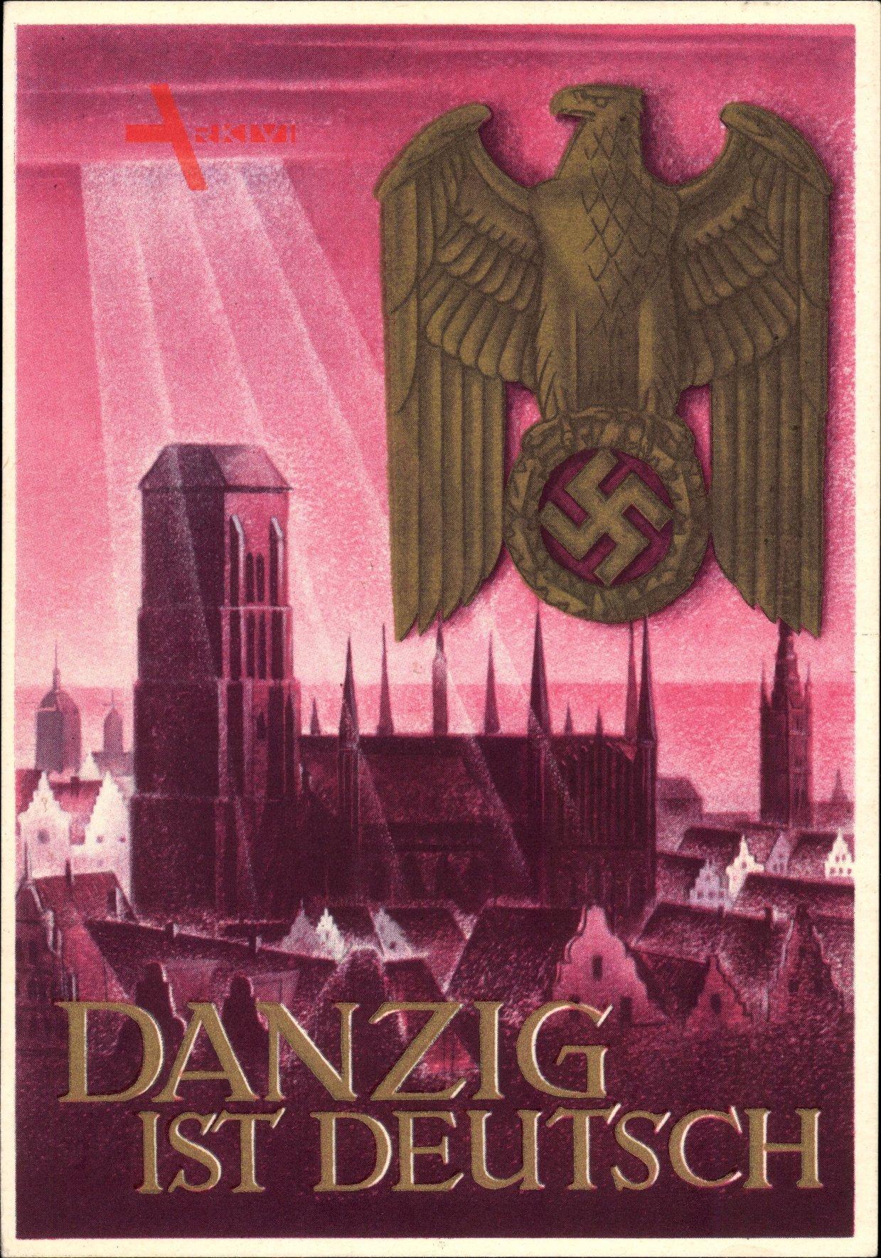 NS-Propaganda - Danzig ist Deutsch, Marienkirche, WHW